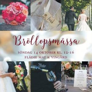 bröllopsmässa Flädie 2018